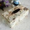 Decorative Light Rectangular PlasticTissue box cover, Car tissue box