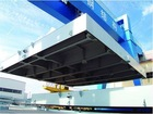 steel structure for ship hull section