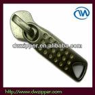 No.5 metal slider,nonlock slider,nylon slider