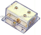 Power Distribution Block 0GA TO 4GA GOLD PLATED