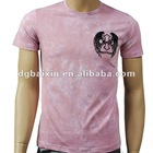 Pink Embro Printed T-shirt