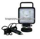 15W Square Multi-Volt High Intensity LED Flood/Work Lamp -Cabin/boat/driving truck Light