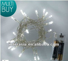 20 white LED battery Operated Fairy Light