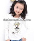 children lovely t shirt with printing