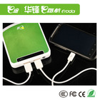 Patent Design Large Capacity Portable Power Bank 10400 mAh for Digital products mobiles phone, tablet, GPS, effect pedals