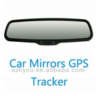 new arrivel car gps ,hide in rearview mirror ,Voice surveillance & SOS feature vehicle gps tracker Lurker(SD)
