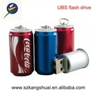 wholesale cola cans gift usb flash drive u disk