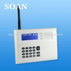 HOT on sale LCD display CDMA pstn auto switch alarm system with voice prompt