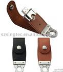 Leather USB flash drive,usb pendrive, USB flash drive