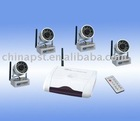 300-500m transmission 2.4GHz outdoor wireless security camera
