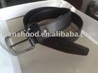 Leather waistband