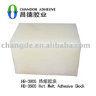 hot melt glue block for shoes industries