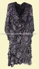 2011 fashions new arrival chiffon long colorful dress