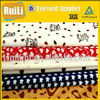 printed microfiber knitted fabric/ soft short plush/short pile plush