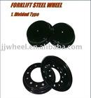 forklift steel wheel