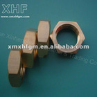 hex brass nuts
