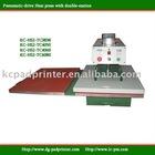 KC-HS2 Pneumatic double-station sublimation press
