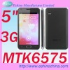 "5"" 3G Dual sim Smartphone android 4.0 MTK6575 Mobile Phone. 3G phone. dual sim. gps/wifi. 3G smart android phone ."
