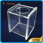 Acrylic Napkin Holder,Perspex Tissue Box,Lucite Paper Towel Dispenser
