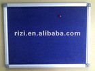 bulletin cork board in aluminum frame