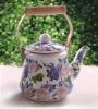 ENAMEL TABLEWARE--TK45S-Korea Style Enamel Teapot