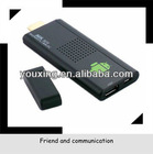 YX-MK809 Android 4.1 Google TV Dongle Dual Core Cortex A9 WiFi 1080P 3D RK3066 Mini PC support voice video chat