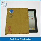Whole sale Postcard Leather Pouch for iPad 2, 100% new brand!