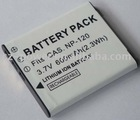 digital Camera Battery For casio NP-120