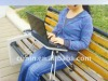 Portable&lightweight notebook table for travelling