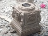 Stone Carved Roman Column Bottom