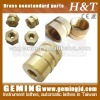 Customized non-standard pieces of brass precision brass pieces