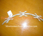 Galvanized Razor Bared Wire