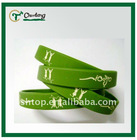 Green Silicon Wristband For Trade Show