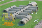 inflatable rescue tent