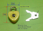 Heart shape mini locks for notebook/decorations