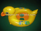 inflatable duck seat/inflatable swimming duck seat/inflatable care baby siwmming seat