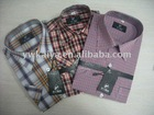 Children plaids shirts with T/C Material