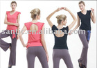 new fashion lady and girl fitness and sportswear