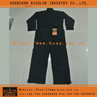 Black Cotton Work Coverall