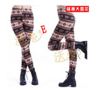 Ladys winter warm skinny tights leggings skinny pant trousers