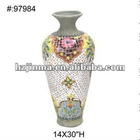 High Grade Hand Painted Decorative Flower Vases fireproof
