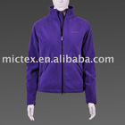 ladies' Fleece tops with wind proof and water proof