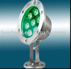 High quality LED underwater light 8W high lumen and wide light angle