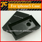 Carbon Fiber Phone Cover For Iphone 5