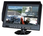 9 Inches Quad LCD Monitor