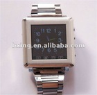 steel touchscreen mobile phone watch