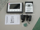 "7"" COLOR LCD MONITOR VIDEO DOOR PHONE"