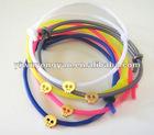 eco-friendly rubber skull bracelets