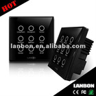 Remote Smart Switch with Full Touch Screen for Home Automation System