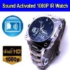 1080P Full HD IR Night Vision Voice Acticated Digital Video Watch